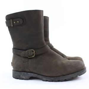 UGG Grandle Genuine Shearling Lined Boot Buckle